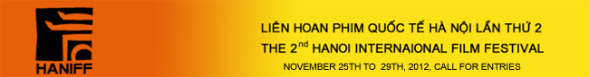 2nd HANOI INTERNATIONAL FILM FESTIVAL, 2012
